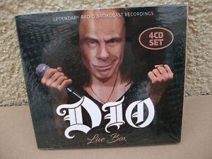 Ronnie James Dio  4 CD Set LIVE BOX Radio broadcast Recording Concert NEW Tour
