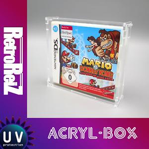 RetroReiZ Acryl Box Case UV Schutz für Nintendo DS Spiele in OVP & 3DS