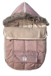 """7AM Enfant """"Le Sac Igloo"""" Cotton Lined Footmuff,  Stroller and Car Seat Cover M"""