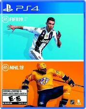NHL 19 & FIFA 19 Bundle Pack (Sony, Playstation 4 PS4) BRAND NEW / SEALED