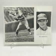 "BILL GRABARKEWITZ- Los Angeles Dodgers Baseball - 2 Photographs on 8"" x 10"" Page"