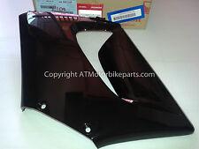 Honda CBR125 R Delantero Izquierdo Carenado Medio Capucha Negro 2004-2007 * * Seguimiento Gratis