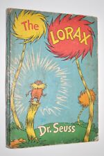 """1971 HC - THE LORAX by Dr. Seuss FIRST EDITION Early """"Lake Erie"""" Printing"""