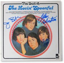 The Lovin' Spoonful Band Signed Autographed Album Cover Sebstian JSA HH36167