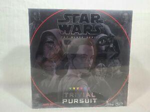 STAR WARS The Black Series TRIVIAL PURSUIT Board Game DISNEY Hasbro 2016 New