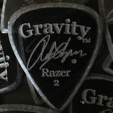 GRAVITY PICKS Razer Rob Chapman Signature Boutique Guitar Pick 2mm Master Finish