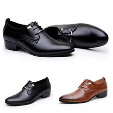 1 Pair of 2 Colors Men's Shoes Formal Shoes Men Casual Oxfords PU Shoes