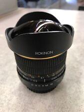 Rokinon 8mm f/3.5 UMC Fish-eye CS Lens for Canon