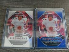 2020 Prizm Draft David Calabrese Silver, Blue Lot Of 2, Angels, 50% To St. Judes