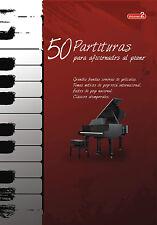 """VOLUMEN 2 - """"50 PARTITURAS PARA AFICIONADOS AL PIANO"""""""