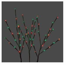 Green/Red Twig Tree Branch Christmas Holiday Outdoor LED Lighted Decoration