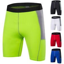 Hommes Fitness Mode élastique taille haute skinny Pantalon Legging Quick Dry