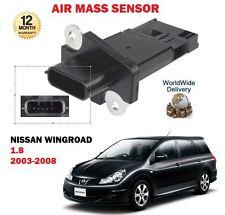 für Nissan Wingroad 1.8i Y11 QG18DE + Van Import 2003-2008 NEU Luftmassensensor