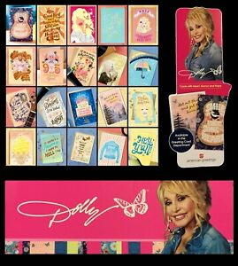 Dolly Parton American Greetings Poster Display & Mini Display + Set of 20 Cards