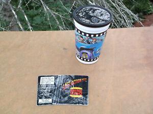 New Burger King Last Action Hero Cup w/ Lid & Sleeve Brand Arnold Schwarzenegger