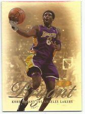 Kobe Bryant 1999-00 Flair Showcase #50 Los Angeles Lakers GD