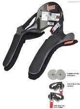Hans Device Pro Ultra Lite 30 Degree Medium Quick Click Sliding Tethers-SFI/FIA-