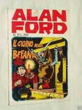 ALAN FORD N° 31 ORIGINALE 1971 CORNO - MAGAZZINO !!