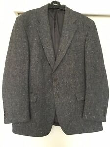 MAGEE 44R Mens Grey Hand Woven Donegal Tweed Country Sports Jacket
