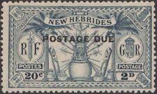 New Hebrides (Pre-1980) Postage Due Stamps