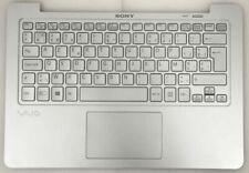 New Sony Vaio SVF11N1M2ES Palmrest Touchpad Belgian Backlit AZERTY Keyboard