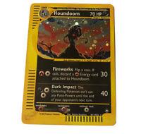 Houndoom H11/H32 Aquapolis Set HOLO RARE Pokemon Card NEAR MINT