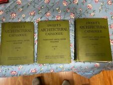 New ListingSweet's Architectural Catalogue 21st Edition 1926-1927 - Complete 3-Volume Set