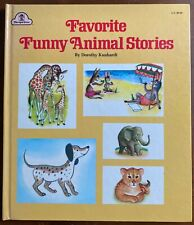 FAVORITE FUNNY ANIMAL STORIES Dorothy Kunhardt Oversize HB Excellent 1973