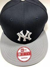 NY Yankees BLACK/GRAY New Era Authentic 9Fifty Snapback MLB Original MSRP $28