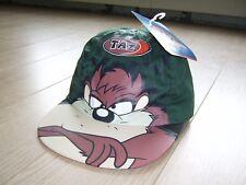 VINTAGE w/ tags Warner Bros. WB Looney Tunes Taz Tasmanian Devil Cap Hat 1997