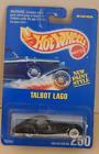 1937 Talbot Lago T150C SS Teardrop Coupe Hot Wheels Main Line 1995-250 Blue Card