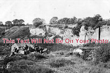 CH 88 - Manley Quarry, Helsby, Warrington, Widnes, Cheshire c1909 - 6x4 Photo