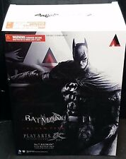 "Play Arts Kai Arkham City Batman Figura 9""/23cm NUOVO! No.7 anni 1970 batsuit per pelle"
