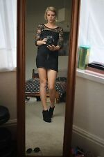 Little Black Dress Lace Bodycon H&M (S)