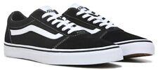 Men Vans Old Skool Ward Black Skateboarding Shoes Classic Canvas Suede Size 9.5