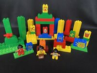 Lego Duplo Lot Native American Indian Camp Figures Mayan 100+ Piece Lot