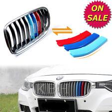 M Color Kidney Grille Cover Stripe Clip BMW 3 Series F30 F31 2013-2015 11 SLATS