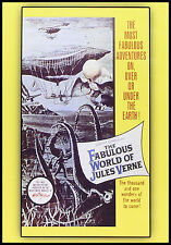 The FABULOUS WORLD of JULES VERNE - 1958 DVD - PLAYABLE WORLDWIDE