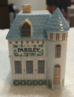 LENOX Spice Village Fine Porcelain PARSLEY  House 1989 Handcrafted
