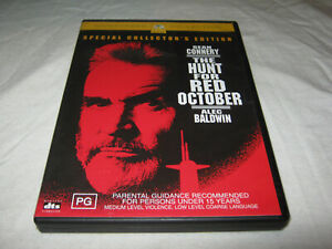 The Hunt For Red October - Special Edition - VGC - DVD - R4