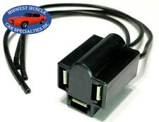 Head Light Lamp Bulb Wiring Socket Sealed Low / High Beam 3 Prong Chrysler D66