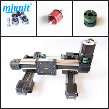 mjunit 2-axis CNC Router engraving/drilling/milling machine linear guideway