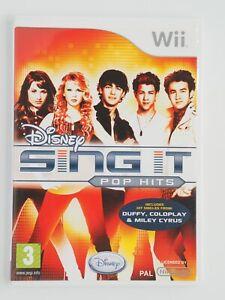 Disney Sing It: Pop Hits (Wii Game) COMPLETE  - AUS SELLER GET IT FAST!