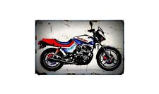 1983 suzuki gs650g katana Bike Motorcycle A4 Retro Metal Sign Aluminium