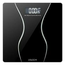 Digital Electronic LCD Personal Glass Bathroom Body Weight Scale Weighing 397LB