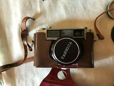 Vintage Yashica M-Ii M2 35mm Film Camera with Bag and Misc Accessories