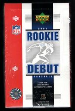 2005 Upper Deck NFL Football Rookie Debut Factory Sealed Hobby Box