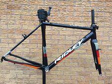 Ridley X-Ride Cyclocross Frameset - Alloy Frame Carbon Fork -  Black / Orange