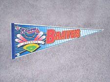 #1405 - ATLANTA BRAVES BASEBALL - LARGE SPORTS PENNANT, FLAG, BANNER
