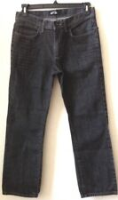 Mens Charcoal Gray Jeans APT.9  W34 L29  100% Cotton Slim Fit 100% Pre-Owned